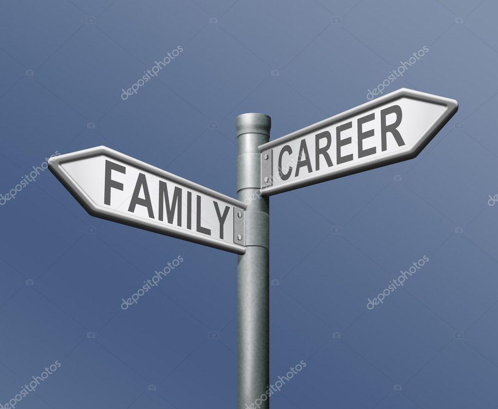 family career job or private dilemma stock photo © kikkerdirk family career job or private dilemma stock photo 10171997