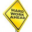 Постер, плакат: Hard work ahead