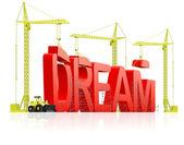 Dream building — Stock Photo