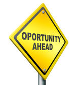 Opportunity ahead — Stock Photo