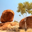 Devils marbles — Stock Photo