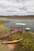 Mareeba wetlands panorama — Stock Photo