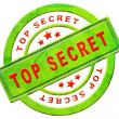 Top secret icon - Stock Photo