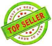 Top seller icon — Stock Photo