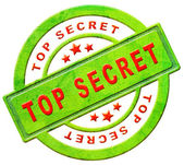 Top secret icon — Stock Photo