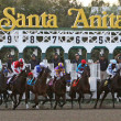 Gate Break for The Santa Anita Handicap 2012 - Stock Photo