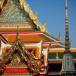 The elements of Wat Pho temple in Bangkok — Stock Photo