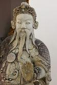 Estatua en el templo de wat pho en bangkok, tailandia — Foto de Stock