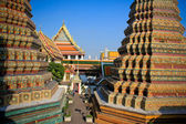 The inside Wat Pho temple in Bangkok — Stockfoto