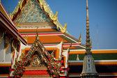 Prvky chrámu wat pho v bangkoku — Stock fotografie