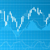 Finance background — Stock Vector