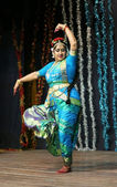 Telugu film actress Manju Bhargavi — Stock Photo