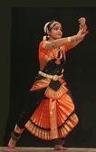 танец бхаратанатьям — Стоковое фото