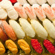 A variety of sushi food - Stockfoto