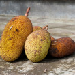 Jack-fruits at the street - Photo
