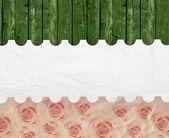 Aged vintage wedding (holiday) background. — Stock Photo
