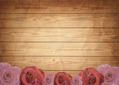 Aged vintage wedding (holiday) background. — Photo