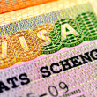 Visa schengen — Stock Photo #10421368