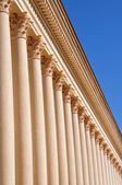 Corinthian columns around the perimeter — Stock Photo