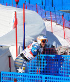 Finishing Bode Miller (USA) — Foto de Stock