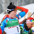 Stock Photo: Cup of Russion biathlon in Sochi on February 10, 2012.