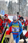 Cup of Russia on biathlon in Sochi on February 10, 2012. — Stock fotografie