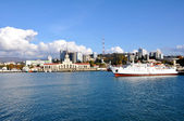 Sochi şehir marina — Stok fotoğraf