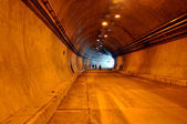 Construction of road tunnel — Foto Stock