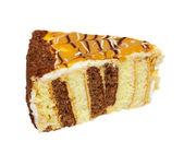 Caramel cake — Stock Photo