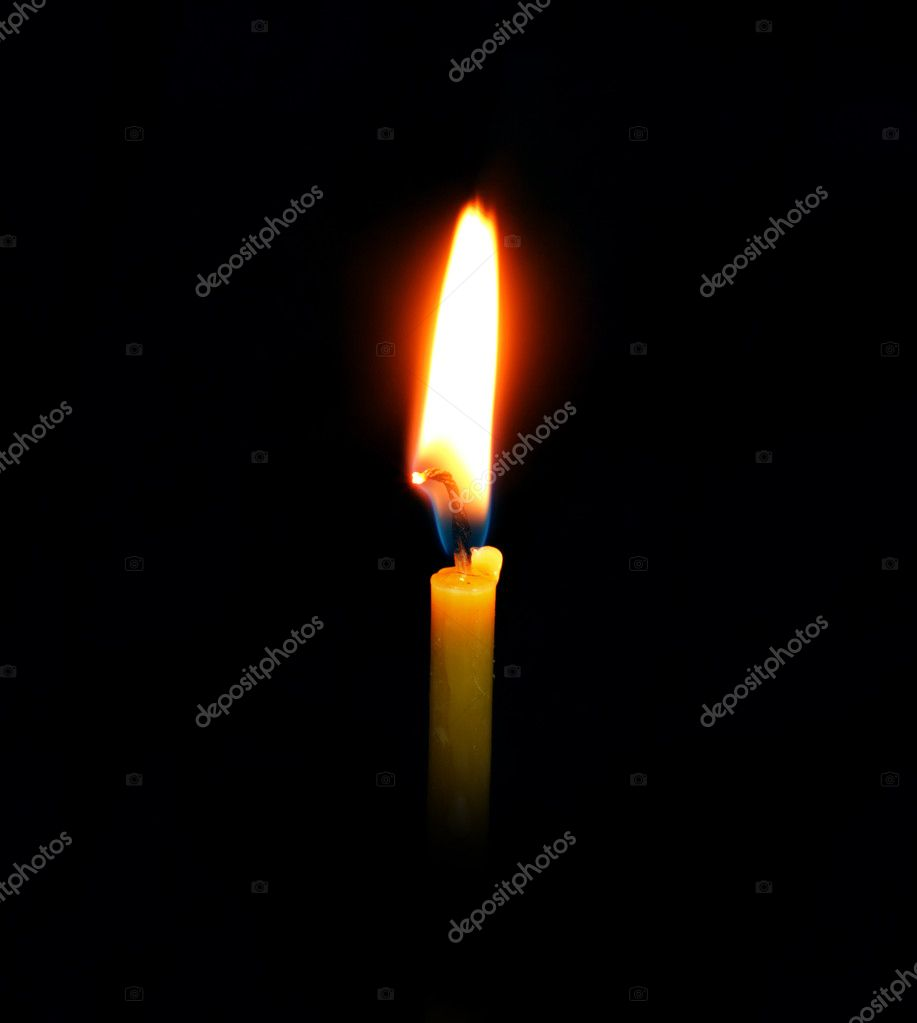 Burning Candle — Stock Photo #10242853
