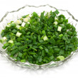 Cut dill and parsley in beautiful plate — Stock Photo #8310624