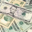 American dollars background / USD background texture — Stock Photo #8311112