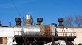 Vecchia fabbrica abbandonata — Foto Stock