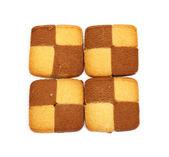 Cookies chess — Stock Photo