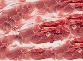 Achtergrond van rood vlees — Stockfoto