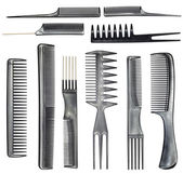 Collection of combs — Stock Photo