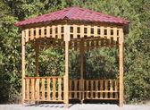 Casa de verano en el parque — Foto de Stock