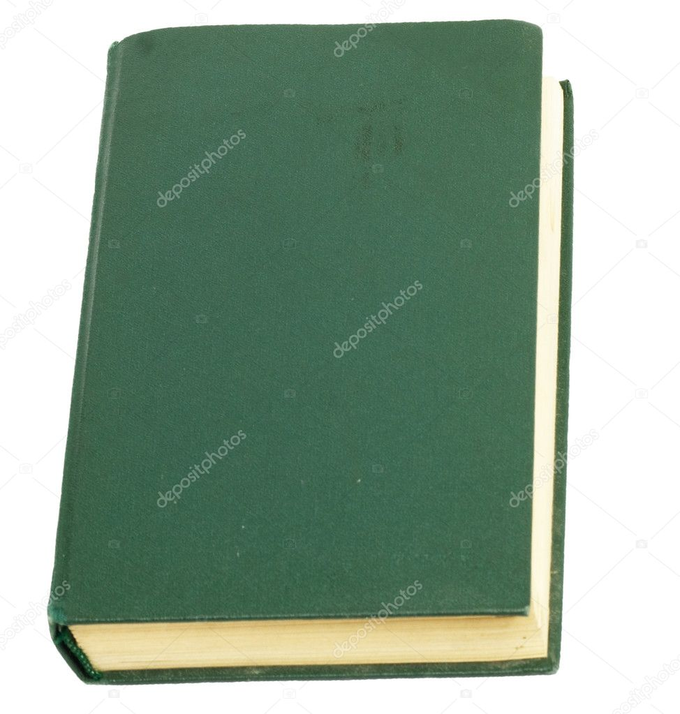 Green book — Stock Photo #8310207