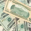 American dollars background / USD background texture — Stock Photo #9009612