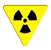Radioactieve sign — Stockfoto