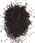 在白色背景上的黑色茶 — 图库照片