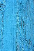Sluiten op blauwe houten panelen van het hek — Stockfoto