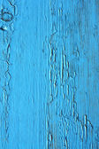 Cierre de paneles de madera azules de la valla — Foto de Stock