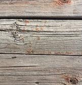 Close up van grijze houten hek panelen — Stockfoto