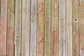 Da vicino dei pannelli di recinzione in legno grigio — Foto Stock