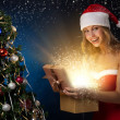 Beautiful christmas woman — Stock Photo #8006519