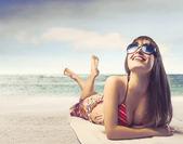 Sorride il sole — Foto Stock