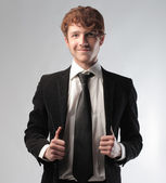 Young businessman — Stockfoto