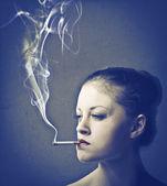 Bad habit — Stock Photo