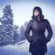 Winter fashion — Stock Photo